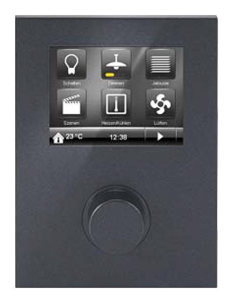 siemens 5wg12042ab21 knx raum controller contouch unterputz carbonmetallic online kaufen im. Black Bedroom Furniture Sets. Home Design Ideas