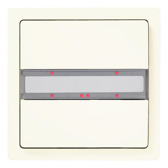 SIEMENS 5WG1285-2DB13 UP 285/13 Taster mit Status-LED titanweiß 1-fach