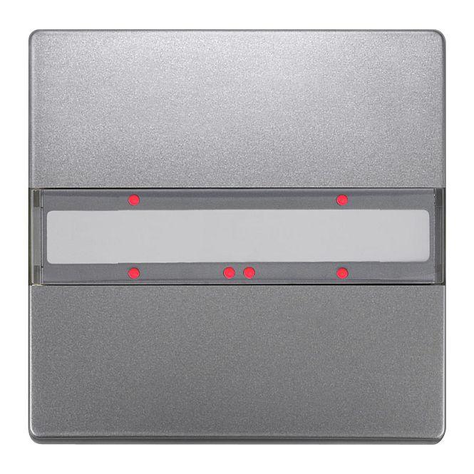 SIEMENS 5WG1285-2DB43 UP 285/43 Taster mit Status-LED platinmetallic 1-fach