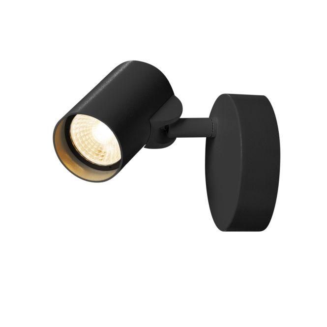slv 156500 helia led wand und deckenleuchte 11w 3000k 620lm 35 schwarz online kaufen im voltus. Black Bedroom Furniture Sets. Home Design Ideas