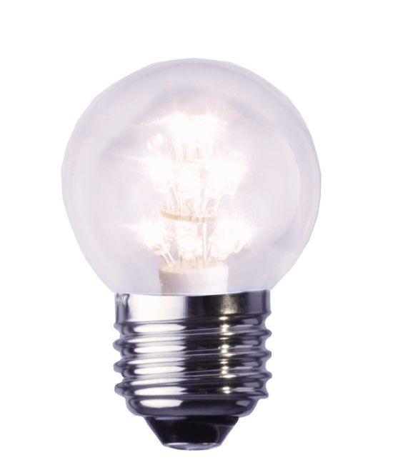 SUHGMBH S+H 33455 Decoline LED Tropfenform 0,9W E27 230V 2100K klar