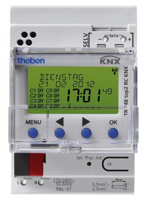 THEBEN 6489212 TR648 top2 RC KNX Digitale Zeitschaltuhr
