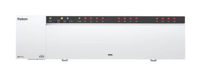 THEBEN 4900374 HMT 12S KNX Heizungsaktor Integration von bis zu 2 Heizkreispumpen