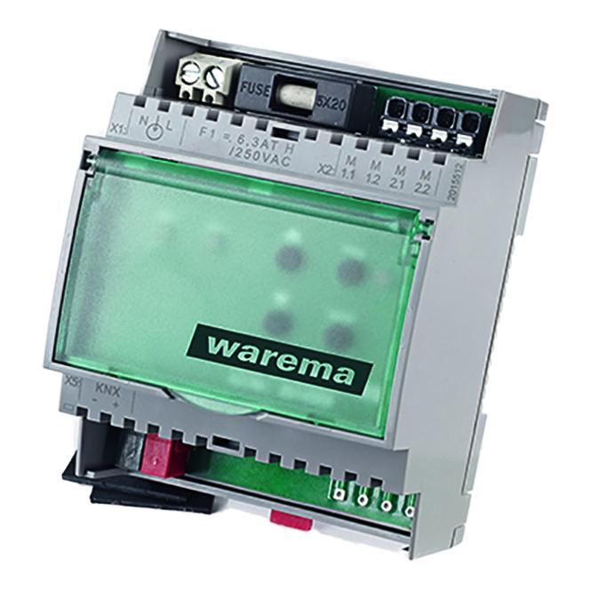 WAREMA 2014568 SA 2M230 REG KNX Jalousieaktor 2 Ausgangskanäle