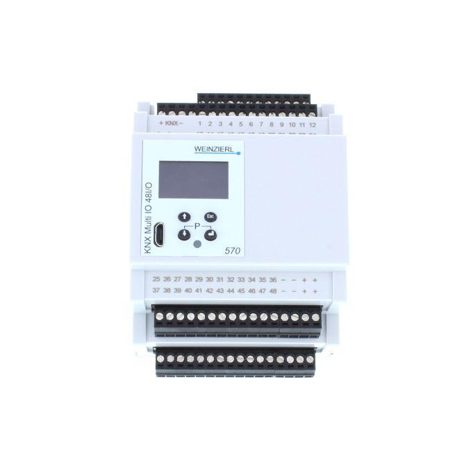 WEINZIERL 570 KNX Multi IO Ein-und Ausgangsmodul für die Gebäudesteuerung KNX-Schnittstelle