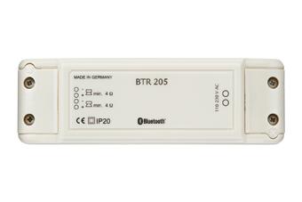 WHD BTR 205 Set UP 10 Bluetooth Receiver, silber
