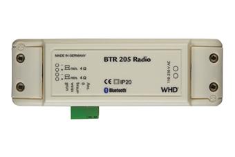 WHD BTR 205 Radio mit  Bluetooth Receiver weiß