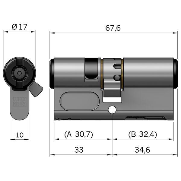 Winkhaus bo 01 profil doppelzylinder bluecompact for Winkhaus blue compact test