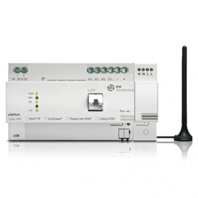bab tec 11504 eibport lan powernet knx enocean gateway version 3 online kaufen im voltus. Black Bedroom Furniture Sets. Home Design Ideas
