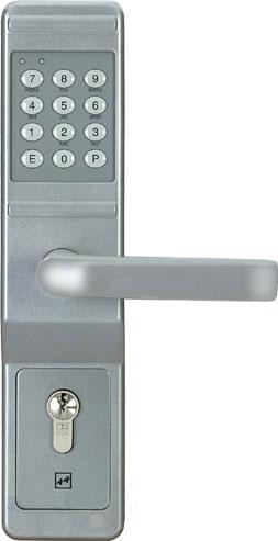 Assa Abloy effeff 495118 Türcodebeschlag  8-9 mm Vierkant~ 50-70mm Türblatt~ weiß
