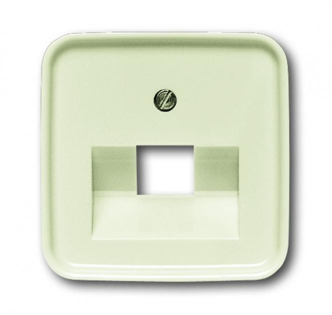 BUSCHJAEGER BUSCH-JAEGER Duro 2000 SI 1803-212 Abdeckung für Netzwerkdosen 1fach