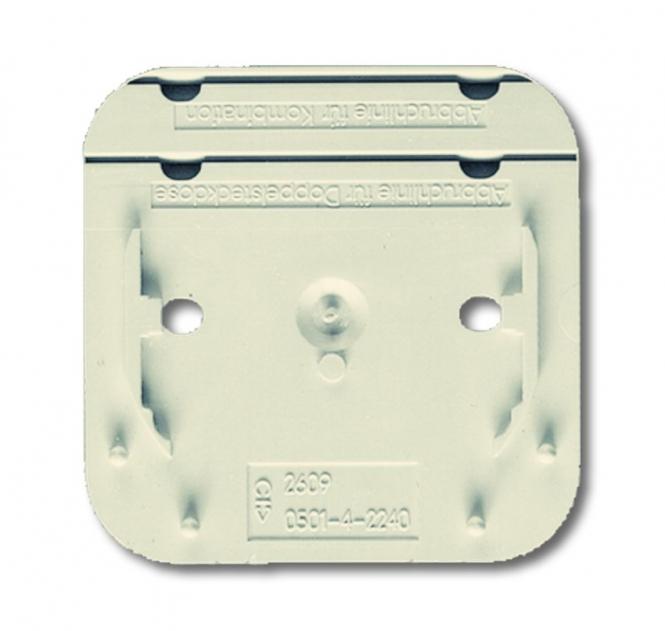 BUSCHJAEGER BUSCH-JAEGER 2609 AP Montageplatte für alle AP-Geräte