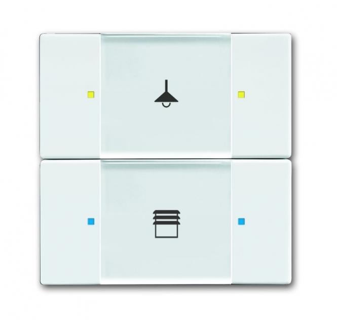 busch jaeger 6126 02 84 bedienelement 2 4 fach. Black Bedroom Furniture Sets. Home Design Ideas