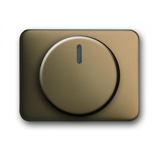 busch jaeger 6540 21 drehdimmer abdeckung bronze online kaufen im voltus elektro shop. Black Bedroom Furniture Sets. Home Design Ideas