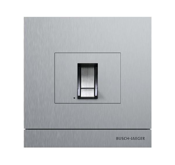 busch jaeger 83100 70 660 au enstation mit fingerprint modul edelstahl online kaufen im voltus. Black Bedroom Furniture Sets. Home Design Ideas