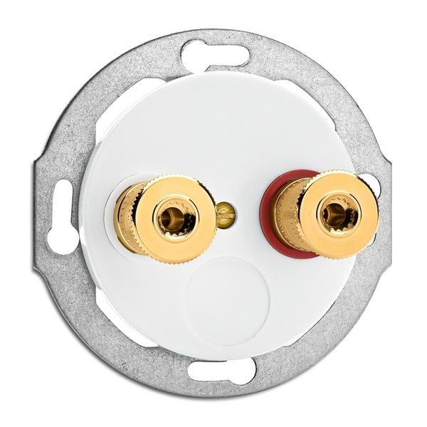 THPG 100741 Lautsprecheranschlußdose WBT Porzellan
