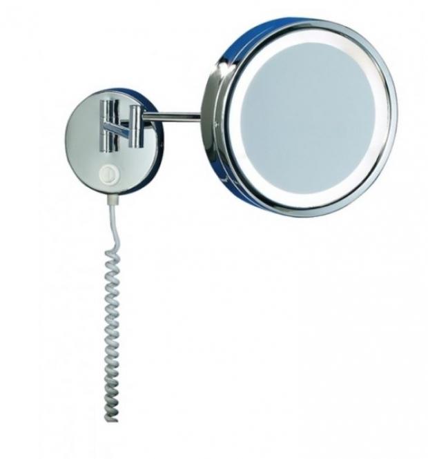lichtideen l35221 wandleuchte mit spiegel mit schalter steckerzuleitung online kaufen im. Black Bedroom Furniture Sets. Home Design Ideas