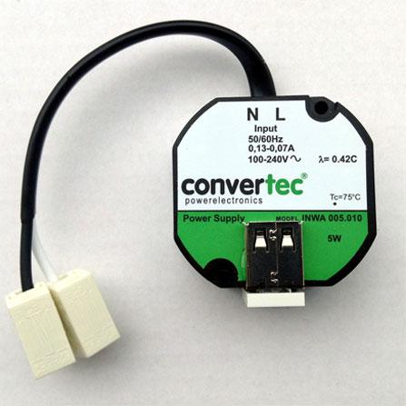 LINGG&JANKE 88003 Netzteil für UP Schalterdose mit USB-Anschluss, 5 V, 1 A