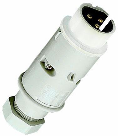 MENNEKES 669A CEE-Stecker 40-50V f.Kleinspannungen