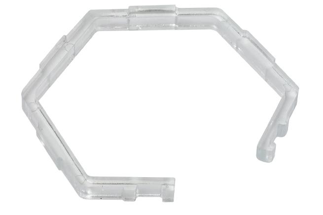 PAULMANN 202000224 Sprengring sechseckig (Kunststoff) für Einbauleuchte Premium