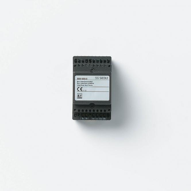 siedle bim 650 02 bus interface modul im 3 raster. Black Bedroom Furniture Sets. Home Design Ideas