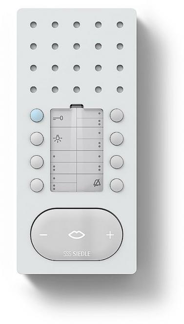 siedle bfc 850 0 w bus freisprechtelefon comfort intercom. Black Bedroom Furniture Sets. Home Design Ideas