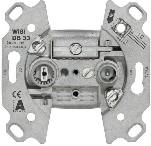 WISI DB33 Antennendose Stichdose 2fach 74-2150MHz