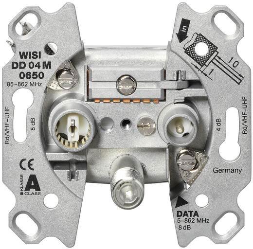 WISI DD04M 0650 Breitband-Modemdosen, Stich