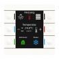 MDT BE-TAS86T.01 Taster Smart 86 mit 6 Sensorflächen und Farbdisplay