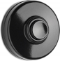 THPG 100880 Klingeltaster Bakelit schwarz mit schwarzem Taster