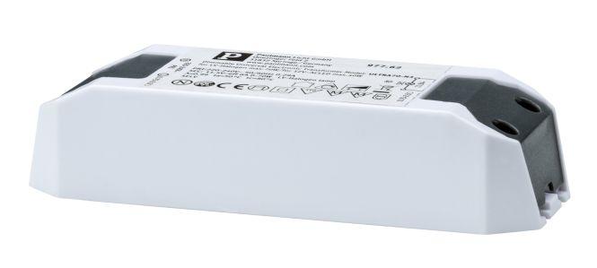 paulmann transformator elektronisch halo led 0 65w 230 12v wei online kaufen im voltus. Black Bedroom Furniture Sets. Home Design Ideas