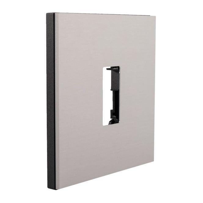 ekey 101991 modul gira system 106 einbaumodul f r fingerscanner up aluminium online kaufen im. Black Bedroom Furniture Sets. Home Design Ideas