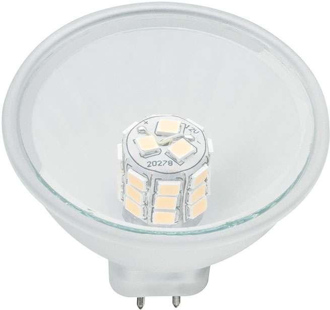 paulmann led reflektor maxiflood softopal gu5 3 12 v 3 0 w online kaufen im voltus. Black Bedroom Furniture Sets. Home Design Ideas