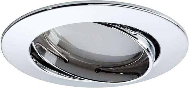 paulmann premiumline led einbau strahler coin 1x6 8w 230v ip23 2700k online kaufen. Black Bedroom Furniture Sets. Home Design Ideas