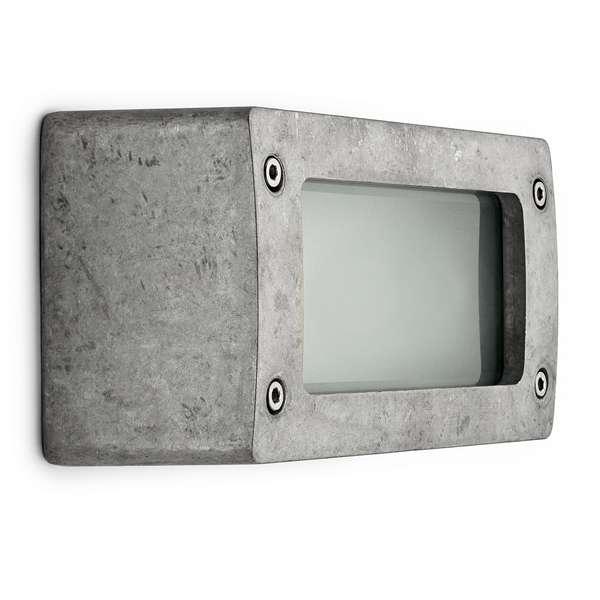 thpg 100632 blockleuchte aluminium natur online kaufen im voltus elektro shop. Black Bedroom Furniture Sets. Home Design Ideas