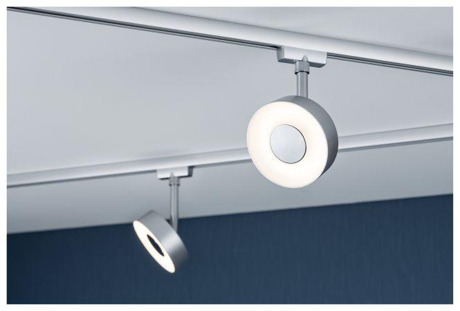 paulmann urail led spot circle 5w 230v 2700k chrom matt online kaufen im voltus elektro shop. Black Bedroom Furniture Sets. Home Design Ideas