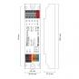 LUNATONE 89453843 DALI RGBW PWM LED Dimmer CV, 12-48VDC 16A