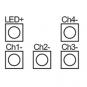 LUNATONE 89453832-HS DALI DT6 4-Kanal LED Dimmer CV 12-48VDC 16 A Hutschiene