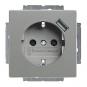 BUSCH-JAEGER 20 EUCBUSB-803 SCHUKO USB-Steckdose Safety+ Graumetallic