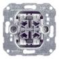 GIRA 014700 Wipptaster Einsatz 4fach für tiefe Schalterdose