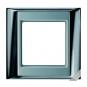 JUNG AP 584 GCR AL Rahmen glanzchrom-aluminium 4-fach