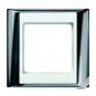 JUNG AP 585 GCR WW Rahmen glanzchrom-alpinweiß 5-fach