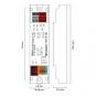 LUNATONE 89453841 DALI DT8 CW-WW PWM LED Dimmer CV 12-48VDC 16 A