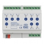 MDT AKS-0816.03 Schaltaktor 6TE REG 16A 230VAC C-Last Standard 140µF 8-fach