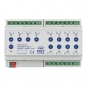 MDT AKS-1216.03 Schaltaktor 8TE REG 16A 230VAC C-Last Standard 140µF 12-fach