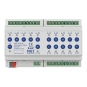 MDT AKS-1616.03 Schaltaktor 8TE REG 16A 230VAC C-Last Standard 140µF 16-fach