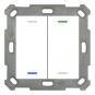 MDT BE-TAL5502.01 Taster Light 55 2fach RGB-W Neutral
