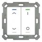 MDT BE-TAL5502.C1 Taster Light 55 2-fach RGB-W Jalousie / Schalten