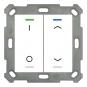 MDT BE-TAL5502.D1 Taster Light 55 2-fach RGB-W Schalten / Jalousie