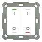 MDT BE-TAL55T2.B1 Taster Light 55 2fach RGB-W Schalten